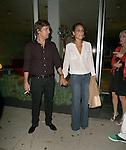 July 6thMusician Rob Thomas and wife Marisol Maldonado  dine at Madeo in West Hollywood, CAAbilityFilms@yahoo.com805 427 3519 www.AbilityFilms.comJuly 6th