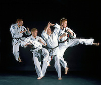 MARTIAL ARTS (KARATE) - STROBOSCOPIC<br />