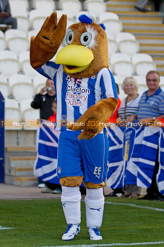 The Colchester mascot - Colchester United vs Portsmouth - NPower League One Football at the Weston Homes Community Stadium, Colchester, Essex - 21/08/12 - MANDATORY CREDIT: Ray Lawrence/TGSPHOTO - Self billing applies where appropriate - 0845 094 6026 - contact@tgsphoto.co.uk - NO UNPAID USE.