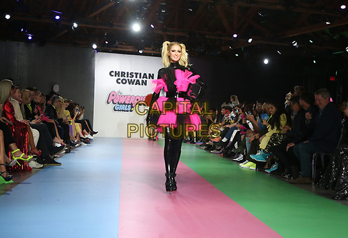 LOS ANGELES, CA - MARCH 8: Paris Hilton, at Christian Cowan x The Powerpuff Girls_Show at City Market Social House in Los Angeles, California on March 8, 2019.   <br /> CAP/MPI/SAD<br /> ©SAD/MPI/Capital Pictures