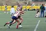 Santa Barbara, CA 02/18/12 - Kelsey Johnson (Arizona #17) in action during the Santa Clara-Arizona game at the 2012 Santa Barbara Shootout.  Santa Clara defeated Arizona 18-9.