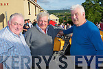 Maurice Slattery (Kilflynn), Noel O'Connor (Castleisland) and paddy Kelly (Causeway) enjoying the Kilflynn Vintage Tractor Run on Saturday evening in conjunction with the Kilflynn Vintage Rally.