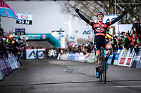 Laurens Sweeck (BEL/Pauwels Sauzen - Bingoal) becomes the new Belgian National CX Champion 2020. <br /> <br /> Elite Men's Race <br /> Belgian National CX Championships<br /> Antwerp 2020