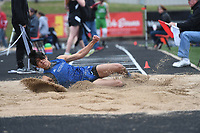 NWA Democrat-Gazette/J.T. WAMPLER Image from Thursday April 26, 2018 at the 7A-West Conference track meet at War Eagle Stadium at Rogers Heritage High School.