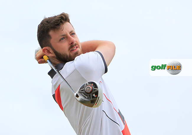 Liam Grehan (Mullingar) on the 12th tee during Round 3 of the 2016 Connacht Strokeplay Championship at Athlone Golf Club on Sunday 12th June 2016.<br /> Picture:  Golffile | Thos Caffrey