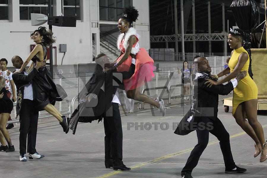 SÃO PAULO,SP,02.02.2019 - CARNAVAL-SP - Ensaio Técnico Geral da escola de samba Império de Casa Verde, no sambódromo do Anhembi localizado na zona norte de São Paulo na noite deste sábado, 02. (Foto:Nelson Gariba /Brazil Photo Press)