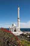Mosque of the Custodian of the Two Holy Mosques, Europa Point, Gibraltar, southern Europe