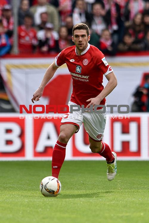 17.04.2016, Coface-Arena, Mainz, GER, 1. FBL, 1. FSV Mainz 05 vs. 1. FC Koeln, im Bild: Stefan Bell (#16, FSV Mainz)<br /> <br /> Foto &copy; nordphoto / Fabisch