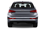 Straight rear view of 2016 Audi Q3  2.0T-FWD-tiptronic-Premium-Plus  5 Door SUV stock images