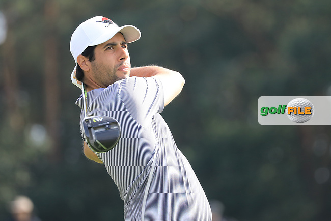 Adrian Otaegui (ESP) during the second round of the Porsche European Open , Green Eagle Golf Club, Hamburg, Germany. 06/09/2019<br /> Picture: Golffile | Phil Inglis<br /> <br /> <br /> All photo usage must carry mandatory copyright credit (© Golffile | Phil Inglis)
