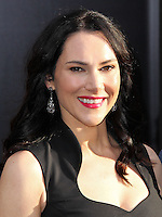 """HOLLYWOOD, LOS ANGELES, CA, USA - MAY 08: Kyra Zagorsky at the Los Angeles Premiere Of Warner Bros. Pictures And Legendary Pictures' """"Godzilla"""" held at Dolby Theatre on May 8, 2014 in Hollywood, Los Angeles, California, United States. (Photo by Xavier Collin/Celebrity Monitor)"""