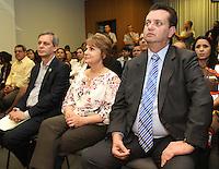 ATENCAO EDITOR: FOTO EMBARGADA PARA VEICULO INTERNACIONAL - SAO PAULO, SP, 11 SETEMBRO 2012 - Prefeito Kassab durante a coletiva no lançamento do projeto Pode entrar que a casa é sua na preifura de São Paulo nessa terça feira, 11 (FOTO: LEVY RIBEIRO / BRAZIL PHOTO PRESS)
