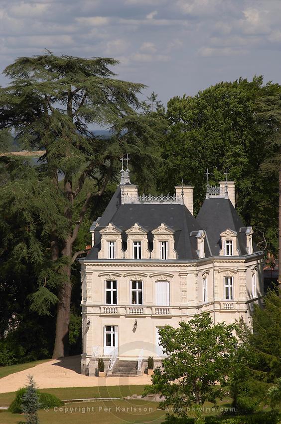 The chateau. Gratien & Meyer, Saumur, Anjou, Loire, France