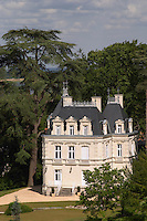 The chateau. Gratien & Meyer, Saumur, Anjou, Loire, France