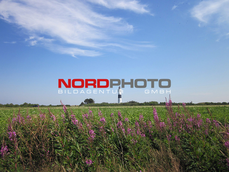 08.08.2013, Nordseeinsel Sylt, GER, im Bild Leuchtturm von Kampen, Foto © nph / Kohring