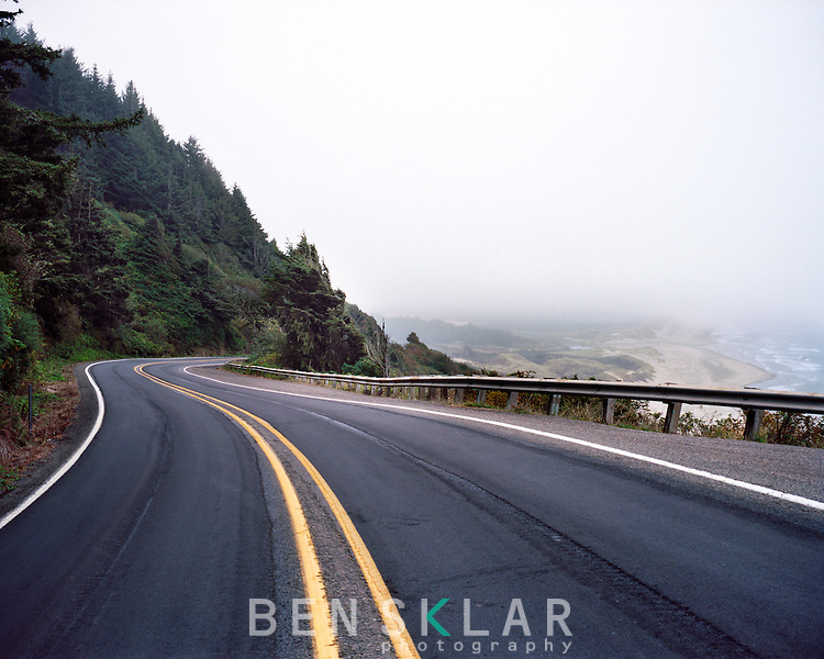 Highway 101 in Washington, Oregon, and California.<br /> <br /> Ben Sklar