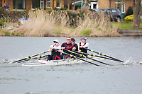 Crew: 303  WRR-MORRISS  Worcester Rowing Club  Op 4x-<br /> <br /> Abingdon Spring Head 2019<br /> <br /> To purchase this photo, or to see pricing information for Prints and Downloads, click the blue 'Add to Cart' button at the top-right of the page.