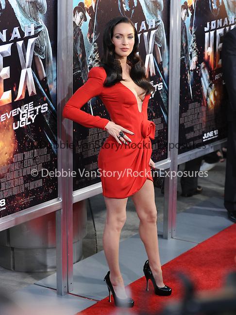 Megan Fox at the Warner Bros. Pictures Special Screening of Jonah Hex in Hollywood, California on June 17,2010                                                                               © 2010 Debbie VanStory / Hollywood Press Agency
