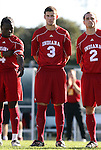 29 November 2009: Indiana's Tommy Meyer. The University of North Carolina Tar Heels defeated the Indiana University Hoosiers 1-0 at Fetzer Field in Chapel Hill, North Carolina in an NCAA Division I Men's Soccer Tournament Third Round game.