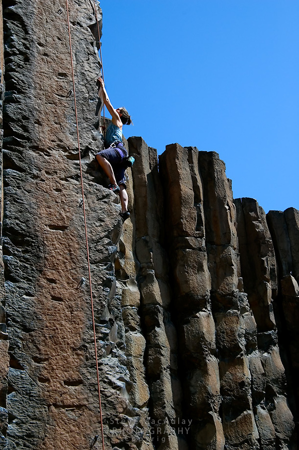 Rock Climbing at Frenchman Coulee/Vantage.  Columbia River Gorge, WA