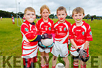 Dylan Passway, Grace Costello, Cillan Enright and James O'Riordan from St Pats Blennerville taking part in the annual John Mitchels U8/U10 Blitz on Saturday.
