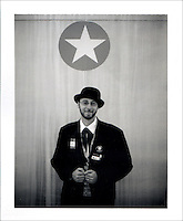 Self described activist delegate from Colorado. Polaroid Portraiture and Reportage from the 2008 Political Conventions