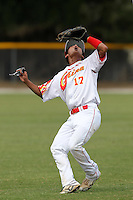 China National Team shortstop Lu Yi #17 during an Instructional League game against the Detroit Tigers at Vero Beach Sports Complex on September 29, 2011 in Vero Beach, Florida.  (Mike Janes/Four Seam Images)