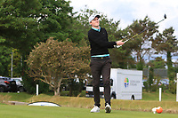 Eugene Smith (Links Portmarnock) on the 1st tee during Round 2 of The East of Ireland Amateur Open Championship in Co. Louth Golf Club, Baltray on Sunday 2nd June 2019.<br /> <br /> Picture:  Thos Caffrey / www.golffile.ie<br /> <br /> All photos usage must carry mandatory copyright credit (© Golffile | Thos Caffrey)