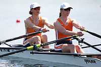 Race: 42  Event: Women's Double Sculls - Tier 2 - Final<br /> <br /> National Schools Regatta 2018<br /> Sunday<br /> <br /> To purchase this photo, or to see pricing information for Prints and Downloads, click the blue 'Add to Cart' button at the top-right of the page.