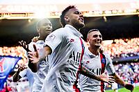 celebration des joueurs du PSG apres le goal de NEYMAR JR (PSG)<br /> 14/09/2019<br /> Paris Saint Germain PSG - Strasbourg <br /> Calcio Ligue 1 2019/2020 <br /> Foto JB Autissier Panoramic/insidefoto <br /> ITALY ONLY