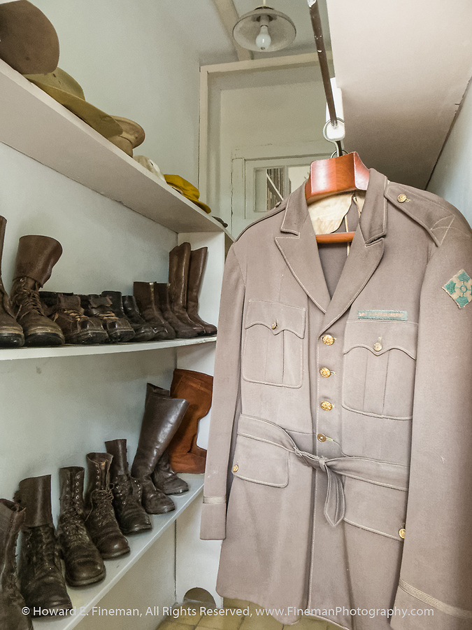 Hemingway's uniform from Spanish civil war