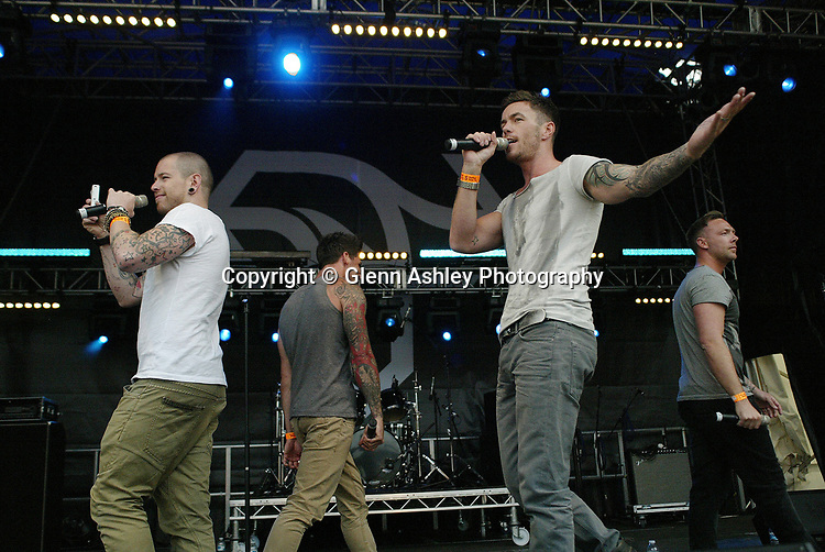 Reason 4 performing at Tramlines, Sheffield, United Kingdom, 23rd July 2011. Photo by Glenn Ashley.