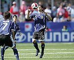 12 July 2007: Argentina's Ever Banega. Argentina's Under-20 Men's National Team defeated Poland's Under-20 Men's National Team 3-1 in a  round of 16 match at the National Soccer Stadium (also known as BMO Field) in Toronto, Ontario, Canada during the FIFA U-20 World Cup Canada 2007 tournament.