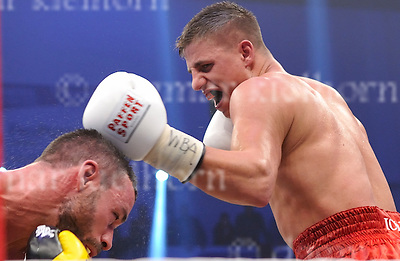 November 05-16,MBS Arena, Potsdam, Brandenburg, Germany<br /> WBA World super middleweight title<br /> Super Middleweight Champ from Italy,Giovanni De Carolis vs Tyron Zeuge,Berlin,Germany<br /> Zeuge wins by twelfth round TKO