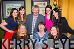 Staff from Bebe creche and Montessori Killarney enjoying their staff night out in the Porterhouse restaurant in Killarney on Friday night, front from left: Mary O'Shea, Sheila Daly and Pia Buckley. Back from left: Rosemary Mangan, Siobhan Bustin, Ristard O'Lionaird, Clara O'Donoghue and Yvonne Slevin.