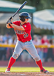 4 September 2016: Lowell Spinners infielder Nick Sciortino in action against the Vermont Lake Monsters at Centennial Field in Burlington, Vermont. The Spinners defeated the Lake Monsters 8-3 in NY Penn League action. Mandatory Credit: Ed Wolfstein Photo *** RAW (NEF) Image File Available ***