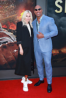 NEW YORK, NY - JULY 10: Lauren Wasser and Dwayne Johnson at the New York Premiere of Skyscraper at AMC Loews Lincoln Square in New York City on July 10, 2018. <br /> CAP/MPI99<br /> &copy;MPI99/Capital Pictures