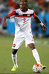 15 July 2015: Joevin Jones (TRI). The Mexico Men's National Team played the Trinidad & Tobago Men's National Team at Bank of America Stadium in Charlotte, NC in a 2015 CONCACAF Gold Cup Group C match. The game ended in a 4-4 tie.