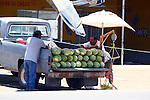 OLD TRUCK SELLING WATERMELONS