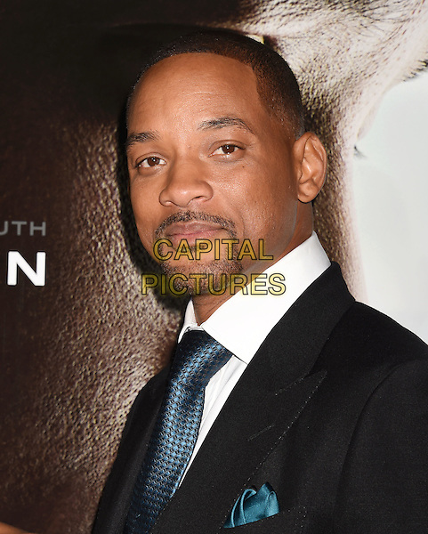 WESTWOOD, CA - NOVEMBER 23: Actor Will Smith attends the screening of Columbia Pictures' 'Concussion' at the Regency Village Theater on November 23, 2015 in Westwood, California.<br /> CAP/ROT/TM<br /> &copy;TM/ROT/Capital Pictures