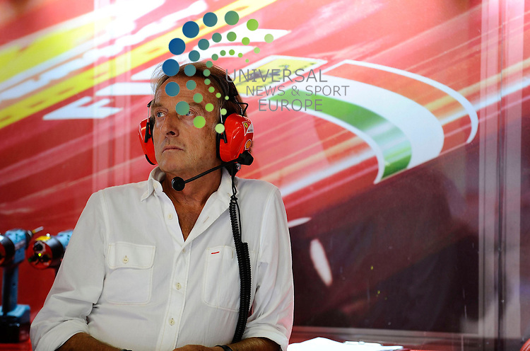Formula 1 Race 13 GP of Italy, Monza - 07.-09. Aug. 2012.Luca di Montezemolo (ITA), Scuderia Ferrari, FIAT Chairman and President of Ferrari ..Hasan Bratic;10/9/2012 Universal News And Sport (Europe) .All pictures must be credited to www.universalnewsandsport.com. (Office)0844 884 51 22.