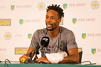 Rotterdam, The Netherlands, 16 Februari 2019, ABNAMRO World Tennis Tournament, Ahoy, Semis, Press Conference, Gael Monfils (FRA),<br /> Photo: www.tennisimages.com/Henk Koster