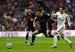 Sevilla FC's Sergio Reguilon  seen in action during the Spanish La Liga match round 20 between Real Madrid and Granada CF at Santiago Bernabeu Stadium in Madrid, Spain