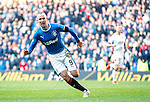 Kenny Miller celebrates his winning goal