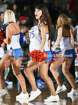 The Texas-Arlington Mavericks dance team members in action during the game between the McNeese State Cowboys and the UTA Mavericks held at the University of Texas at Arlington's, Texas Hall, in Arlington, Texas.  McNeese State defeats UTA 81 to 72.