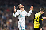 Daniel Ceballos of Real Madrid gestures during the Europe Champions League 2017-18 match between Real Madrid and Borussia Dortmund at Santiago Bernabeu Stadium on 06 December 2017 in Madrid Spain. Photo by Diego Gonzalez / Power Sport Images
