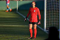 Portland, OR - Sunday March 11, 2018: Emily Boyd during a National Women's Soccer League (NWSL) pre season match between the Portland Thorns FC and the Chicago Red Stars at Merlo Field.
