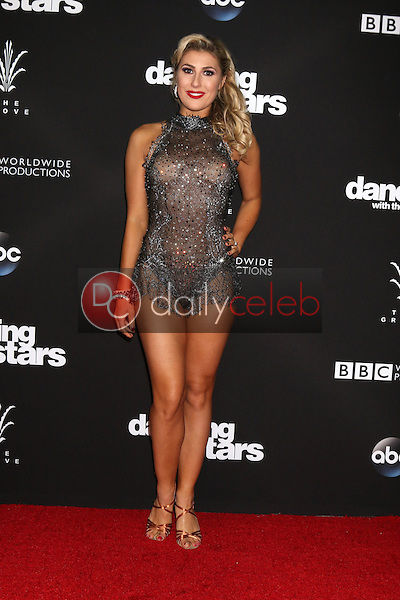 """Emma Slater<br /> at the """"Dancing With The Stars"""" Live Finale, The Grove, Los Angeles, CA 11-22-16<br /> David Edwards/DailyCeleb.com 818-249-4998"""