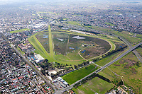Kenilworth Race Course Aerial, Cape Town, South Africa.