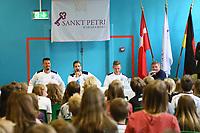 07.06.2017: Deutsche Nationalspieler besuchen Deutsche Schule in Kopenhagen